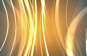 黄色绚丽光线华丽移动科技特效视频素材