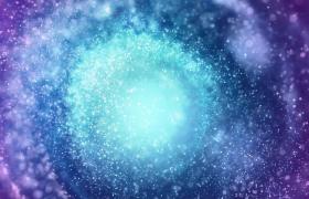 炫彩星空旋渦粒子夢幻懸浮MP4特效視頻素材