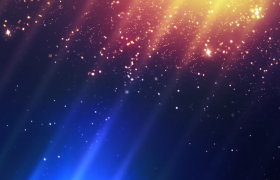 絢麗光效背景閃光粒子碎片飄灑HD特效視頻素材