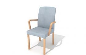 創意性原木簡約設計日式風格高雅室內座椅C4D模型