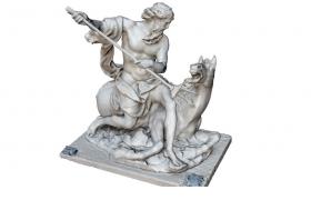 古希臘神話故事海王星海神C4D人物雕塑模型