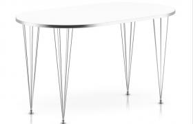 欧式铁艺风格设计创意性室内网红餐桌C4D模型(含贴图)