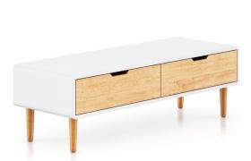 北歐可可風原木家具客廳電視柜臺C4D模型(含貼圖)