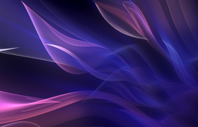 蓝紫柔美光线梦幻延长MOV动态特效视频
