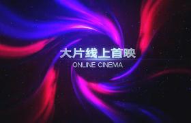 粒子星空背景炫彩极光特效扩散影视片头AE模板下载