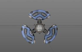 永恒空間Everspace科技太空宇宙飛船Cinema4D工程模型