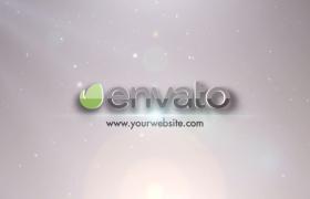 精简实用的星光粒子特效动画Logo闪耀光效Premiere片头模板