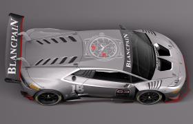 5.2L V10自然吸氣蘭博基尼Huracan LP 620-2 Super Trofeo賽車C4D Models
