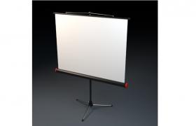 現代化室內講壇大屏投影幕C4D投影設備模型