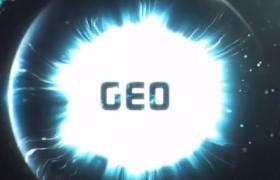 眼球状魔法粒子科幻电影开场动画Ae模板