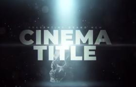 黎明下大标题的战争电影预告片展示AE模板