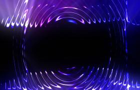 4K下載漣漪擴散炫彩光效節奏閃爍VJ炫酷酒吧夜場視頻