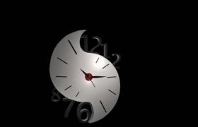 陰陽太極八卦陣個性化OCLOCK時鐘C4D模型