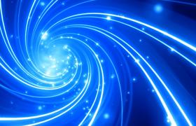 白光粒子蓝色螺旋光线隧道漂浮唯美特效视频优德w88中文版