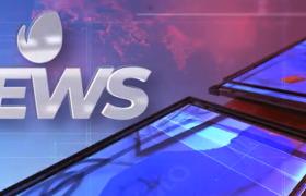 3D效果液晶屏幕电视墙的新闻播报包装片头ae模板演示