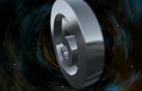 科幻时空粒子隧道穿越3D数字圆环翻转5秒倒计时视频