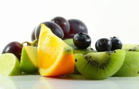 各种新鲜水果花样拼凑旋转微距特写MOV实拍视频