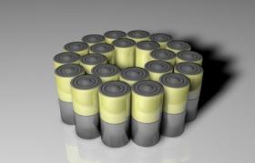 Battery电能储存装置可拆卸电池C4D原模型