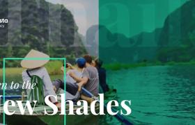 清凉一夏旅行社夏季旅行项目商务推广幻灯片ae模板