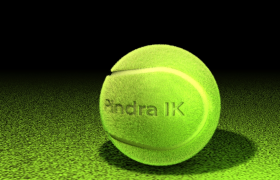 澳網網球TENNIS BALL體育用品球類C4D模型(3DS,OBJ,Collada,Cinema 4D,FBX,DXF