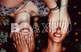 嘻哈风潮流时尚vlog短视频快速排版片头重踏特效ae模板