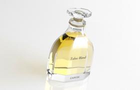 卡朗金色烟草Caron Tabac Blond 1919法国植物精粹沙龙品牌香水C4D模型