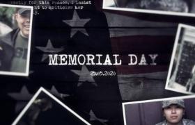 AE歷史圖文模板_圖文緩慢展示英雄銘記歷史追悼圖文視頻模板