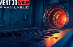 AE插件_MAC破解版三维模型插件Element 3D v2.2.2.2168下载