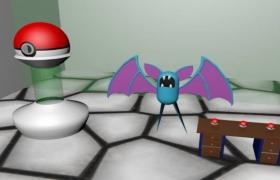 卡通蝙蝠bat动漫影视角色动物3D模型展示(FPX,DAE)