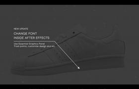 具有科技風格的產品注釋圖標動畫ae源文件素材
