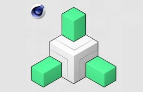 C4D插件_空间几何物体简单复制对称快速生成插件Symex 1.0破解版下载