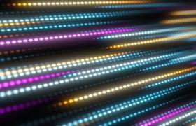 炫彩波点光线倾斜冲刺动感既视感mov视频素材