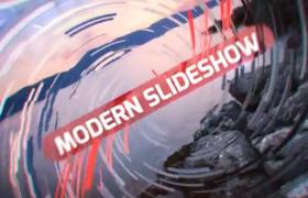 线条螺旋转场大气现代生活幻灯片视频展示AE模板Modern Slideshow