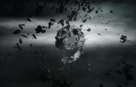 飞沙走石特效3D影视级动态倒计时视频素材