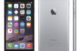 经典银灰色商务款iphone 6手机cinema4d模型(含贴图)