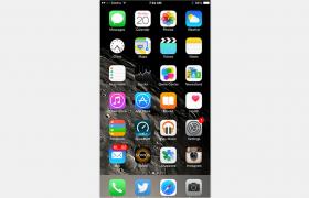 深空灰4.7英寸苹果6iphone手机C4D模型(含材质贴图)