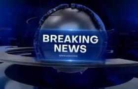红蓝科技三维地球环绕新闻栏目包装开场片头视频AE模板Headlight News
