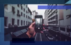 AE模板-現代化科技公司企業文化展示圖文幻燈片宣傳視頻模板