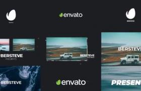 AE預設-圖文故障效果展示創意欄目包裝視頻宣傳預設模板