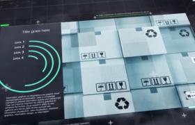 AE模板-三維立體信息圖表展示創意圖文數據信息統計視頻模板