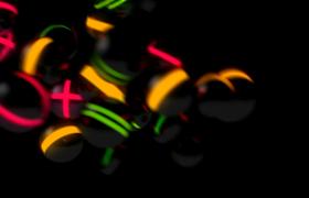 VJ视频素材-酷炫动感球簇抖动摇摆炫酷开场视频素材