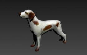 南斯拉夫斑點狗大麥町犬Dalmatian 3D Model下載