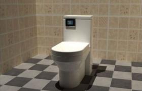 純白色瓷藝設計全自動智能馬桶家居設備3D MAX模型