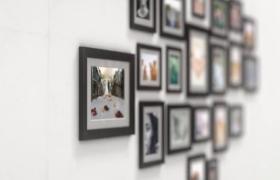 AE模板-三維空間多視角照片墻展示溫馨浪漫的記憶相冊集視頻模板