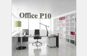 Office P10商務大廈獨立空間高管辦公室3D效果場景設計