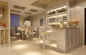 皇室風格豪華室內套房3D場景工程渲染模型