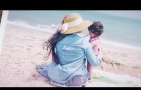 AE模板-圖集幻燈片展示溫馨浪漫的回憶家庭照相冊集演繹視頻模板