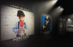 AE模板-三維畫廊照片相冊展示酷炫演繹開場相冊集包裝視頻模板