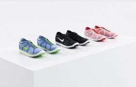 年轻运动范精品耐克牌男女运动鞋3d效果展台模型