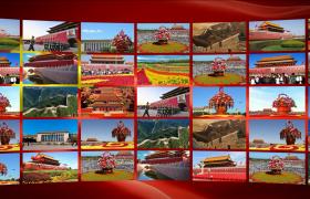 党政宣传模板_曲面大屏图集展现中国梦伟大复兴新征程党建片头AE模板国庆节